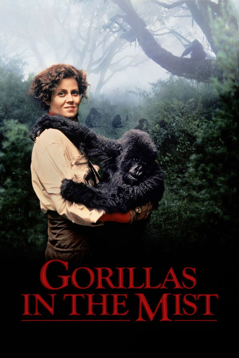 Gorillas in the Mist movie poster