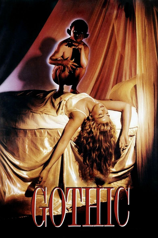 Gothic (film) movie poster
