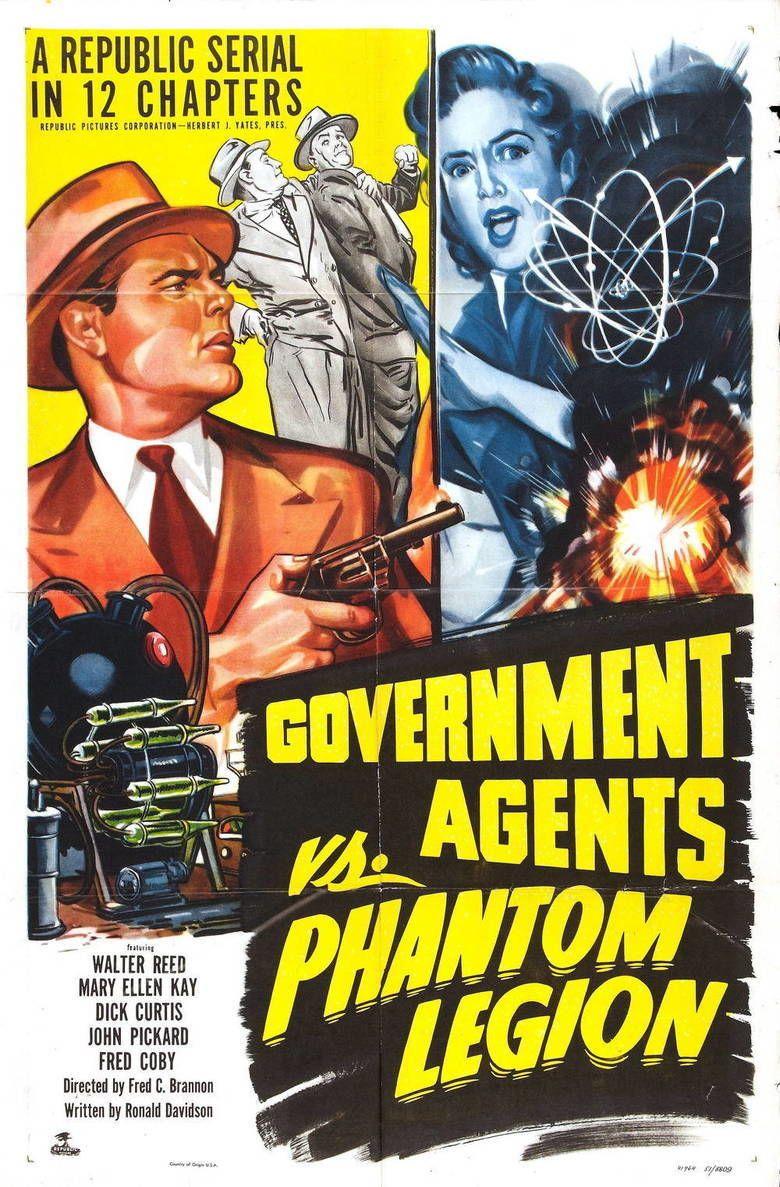 Government Agents vs Phantom Legion movie poster