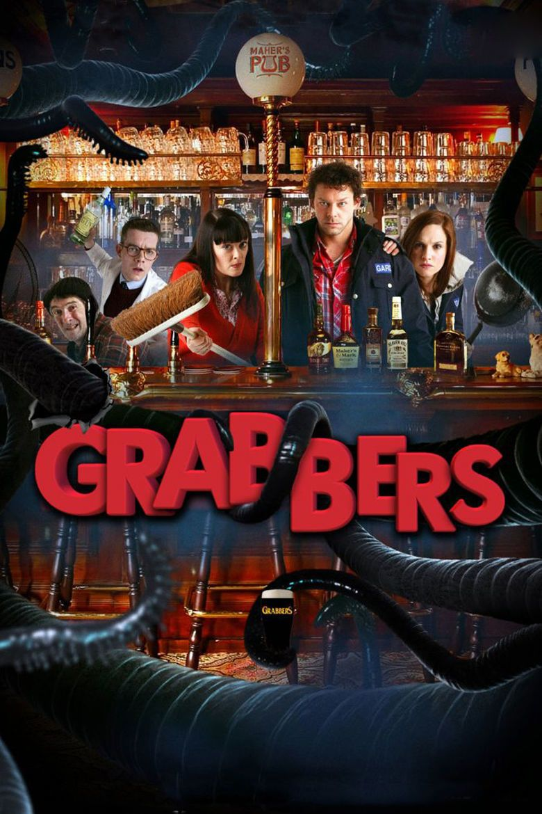 Grabbers movie poster