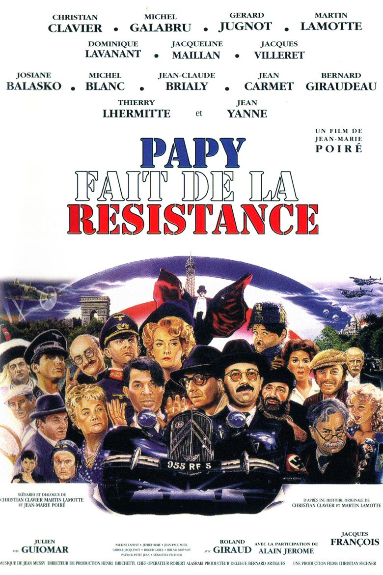 Gramps Is in the Resistance movie poster