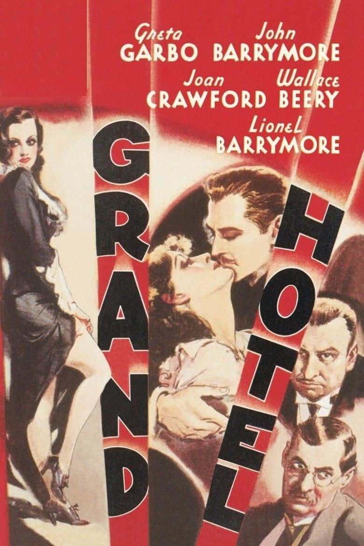 Grand Hotel (film) movie poster