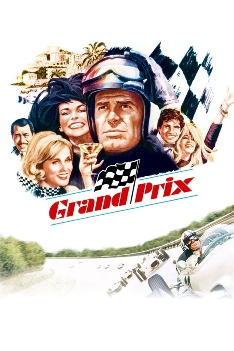 Grand Prix (1966 film) movie poster