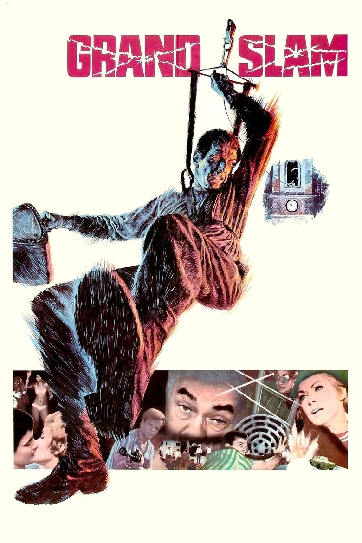 Grand Slam (1967 film) movie poster