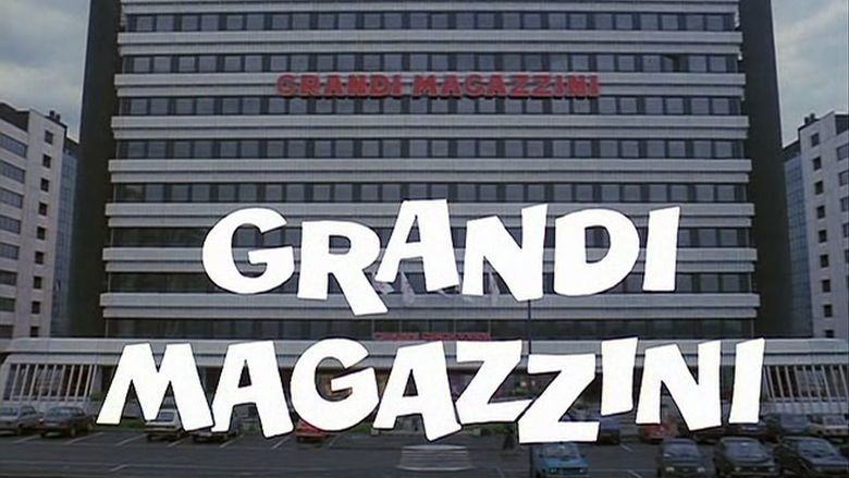 Grandi magazzini movie scenes