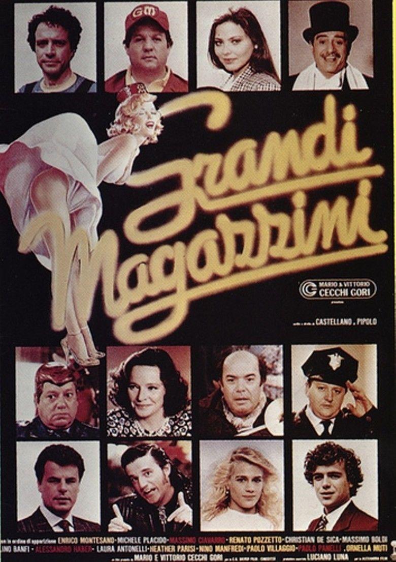 Grandi magazzini movie poster