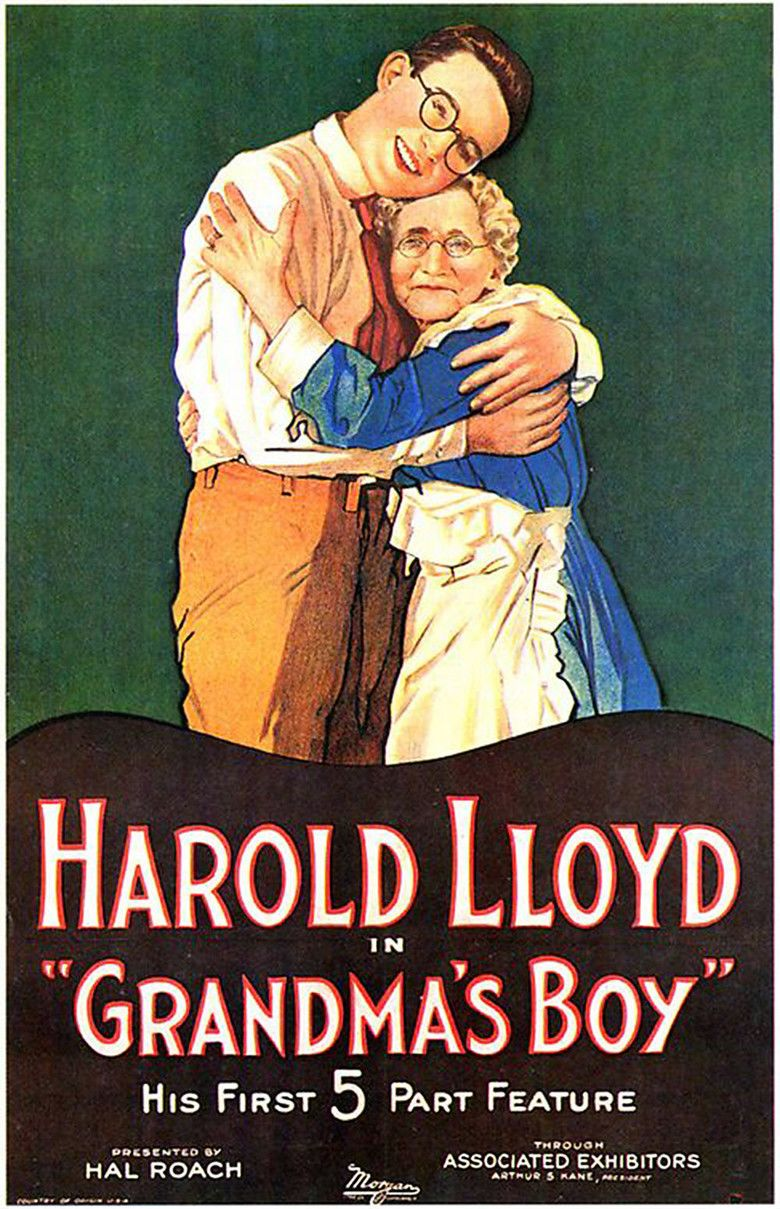 Grandmas Boy (1922 film) movie poster