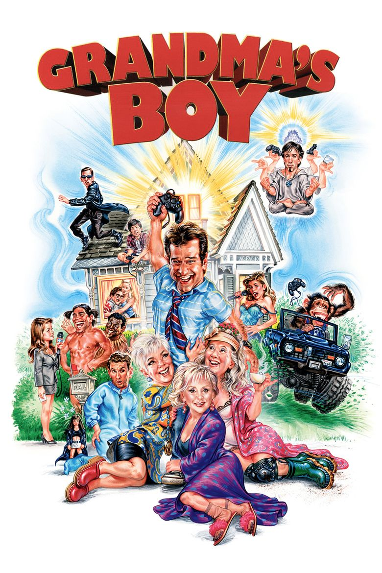 Grandmas Boy (2006 film) movie poster