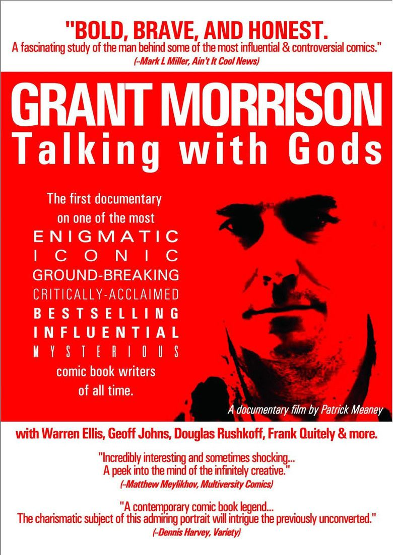 Grant Morrison: Talking with Gods movie poster