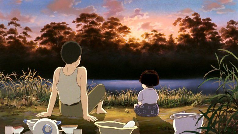 Grave of the Fireflies movie scenes