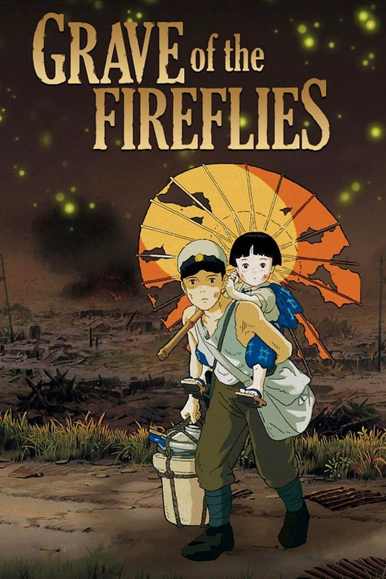 Grave of the Fireflies movie poster