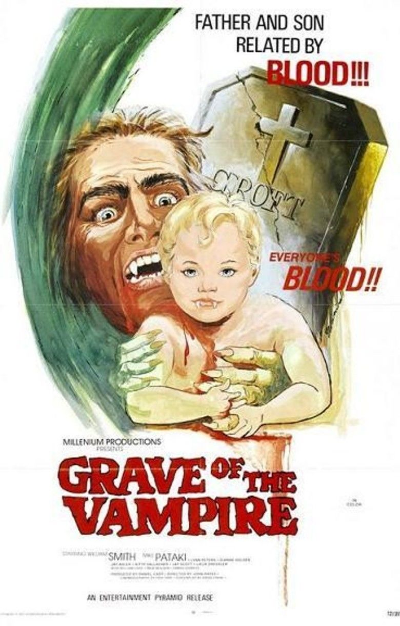 Grave of the Vampire movie poster