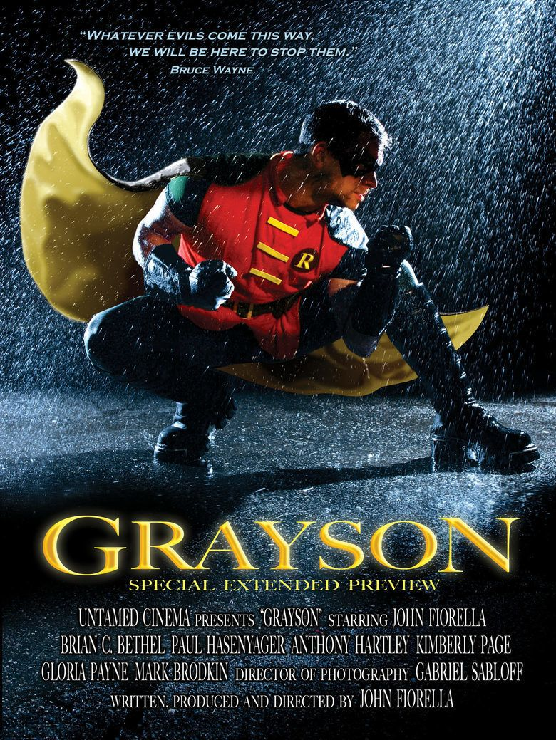 Grayson (film) movie poster