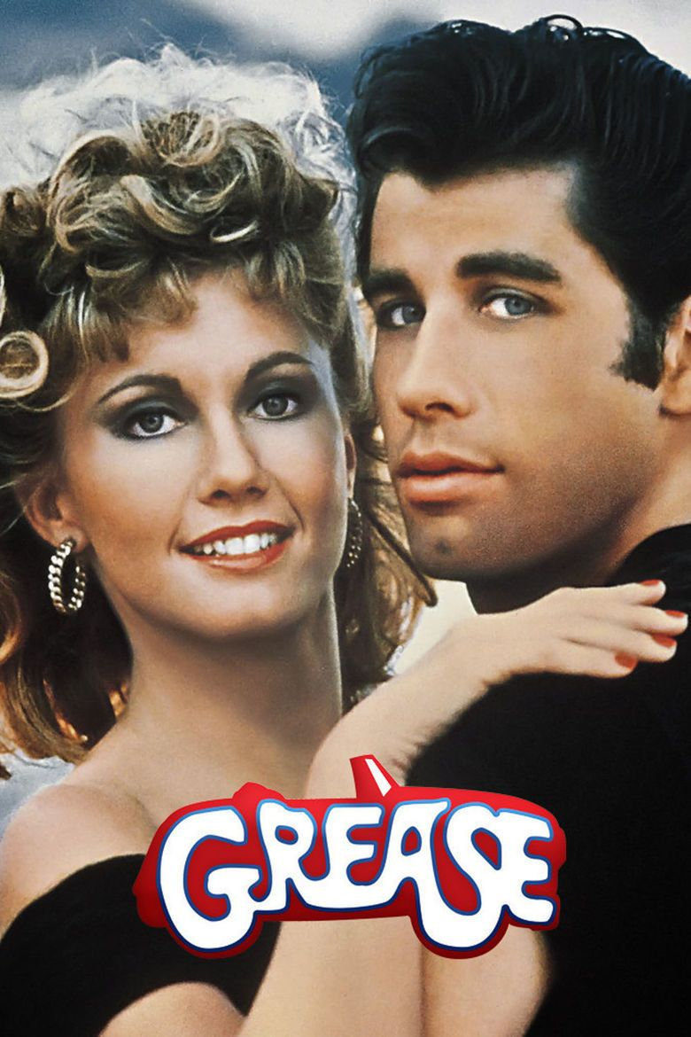 Grease (film) movie poster