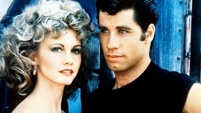 Grease (film) movie scenes