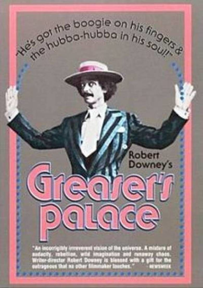 Greasers Palace movie poster