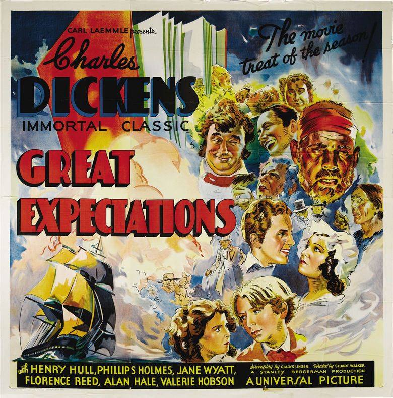 Great Expectations (1934 film) movie poster