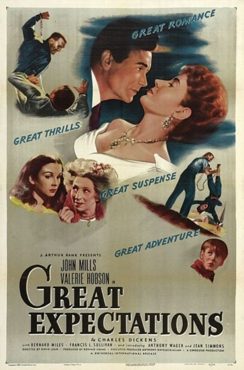Great Expectations (1946 film) movie poster