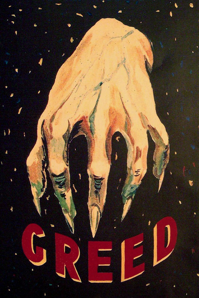 Greed (film) movie poster