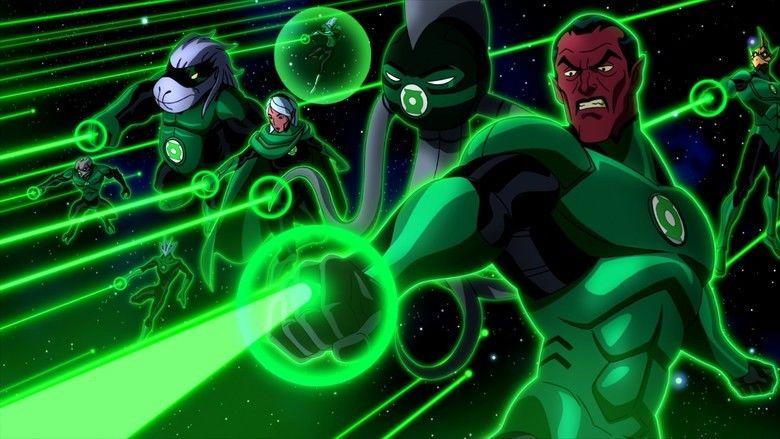 Green lantern beyond