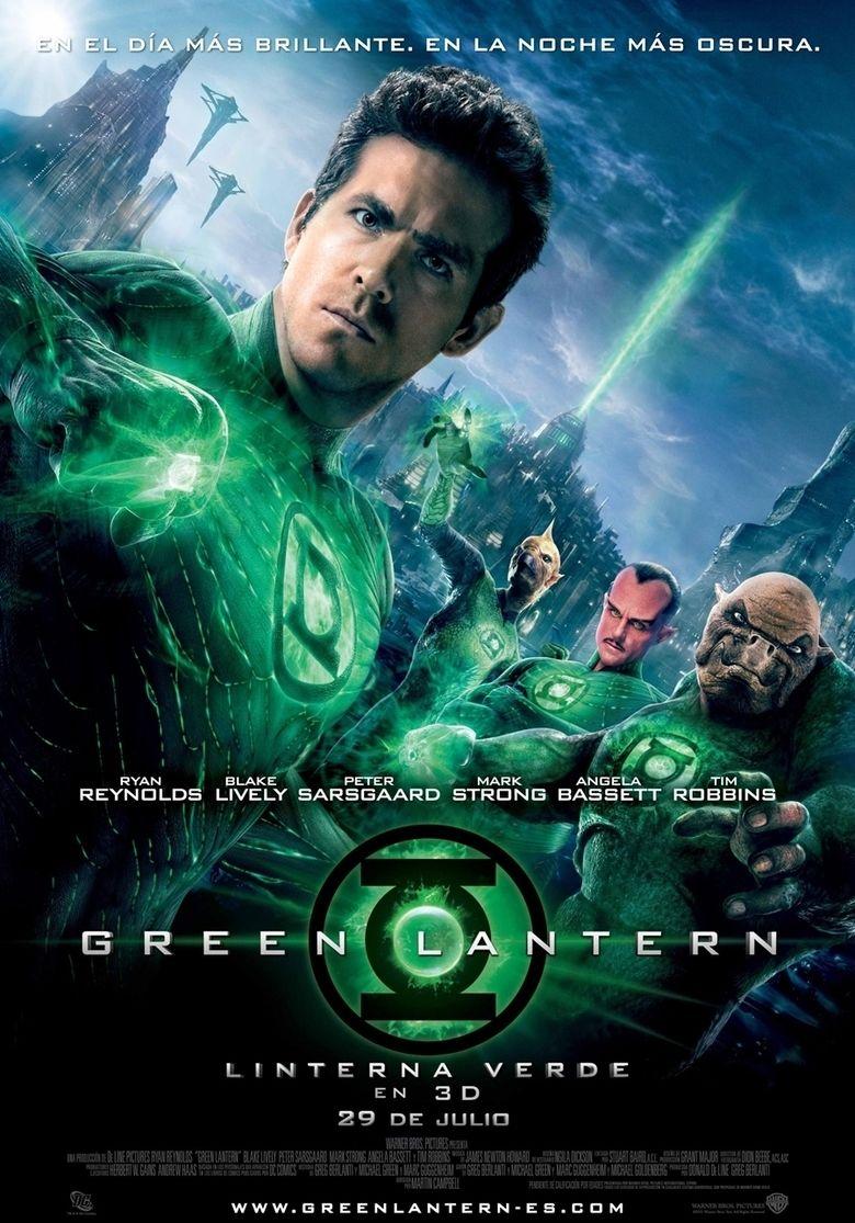 Green Lantern (film) movie poster