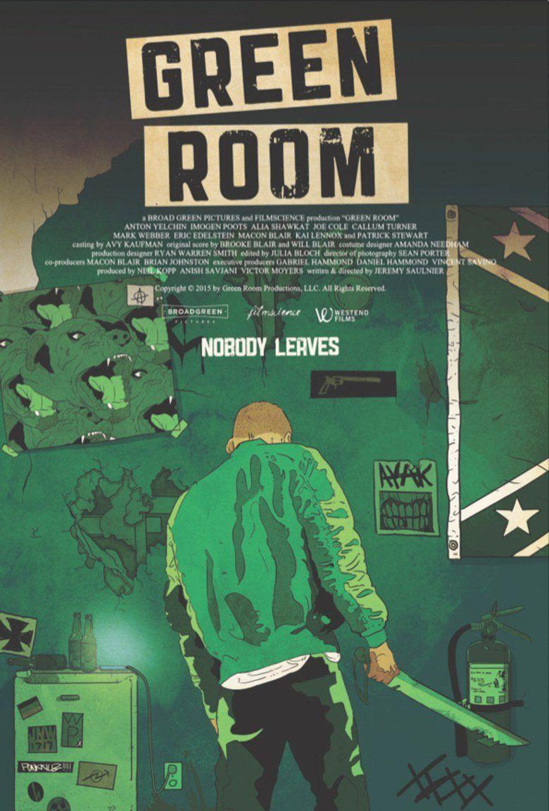 Green Room (film) movie poster