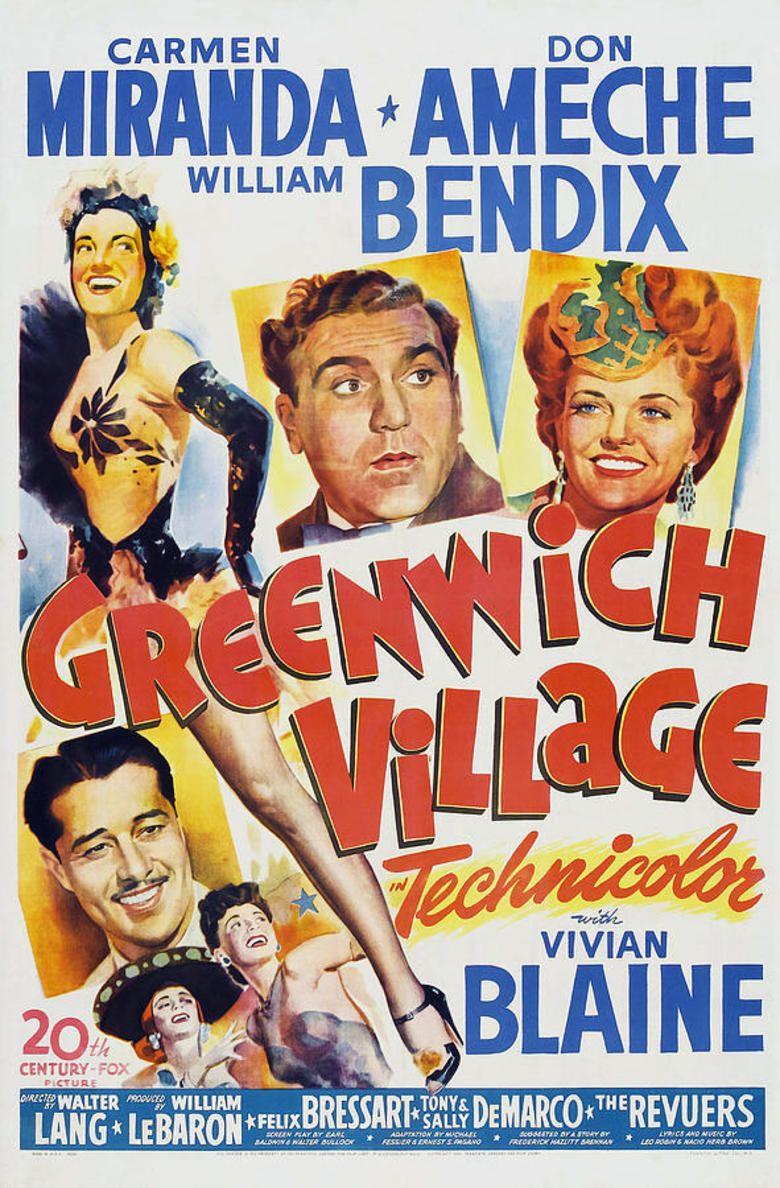 Greenwich Village (film) movie poster