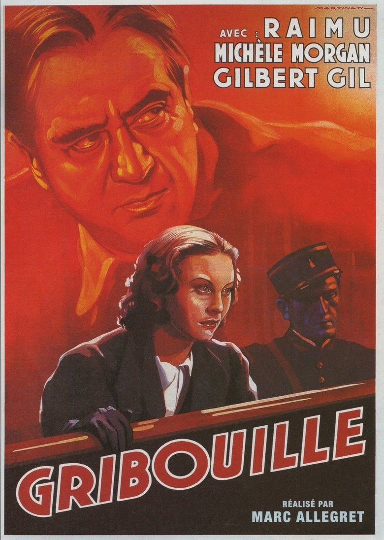 Gribouille (film) movie poster