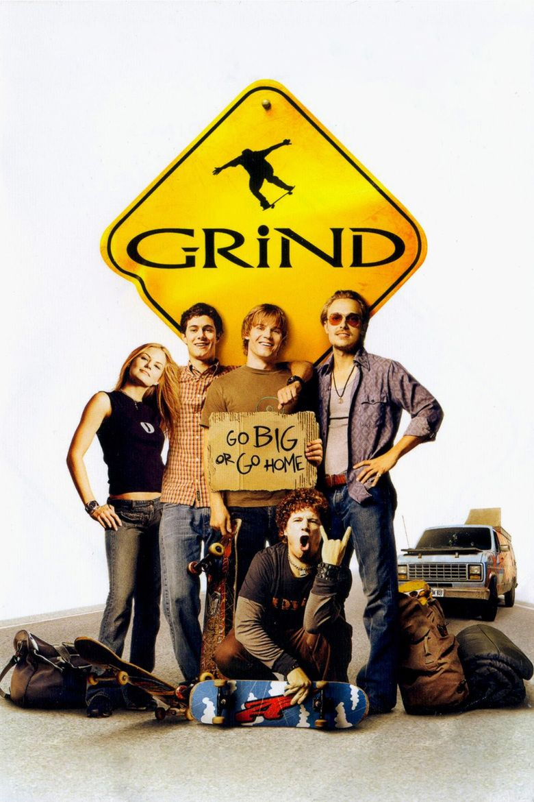 Grind (2003 film) movie poster