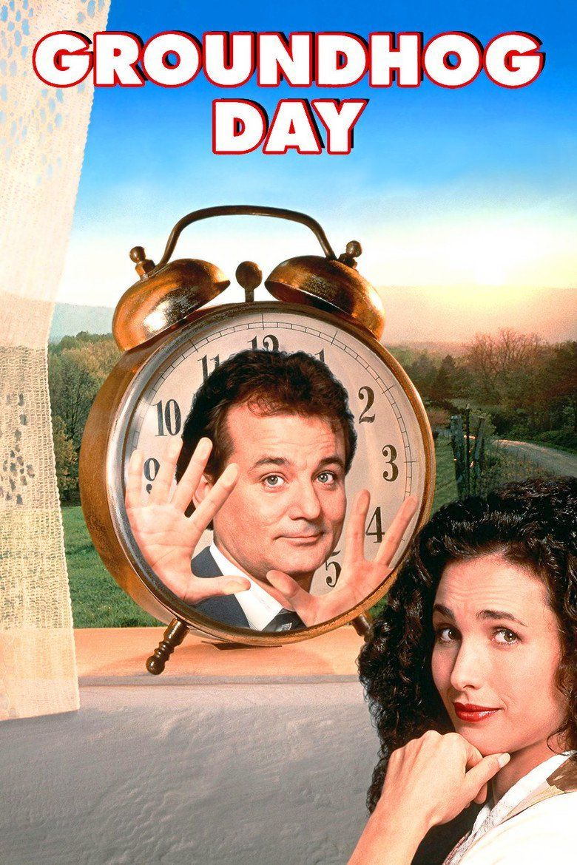 Groundhog Day (film) movie poster