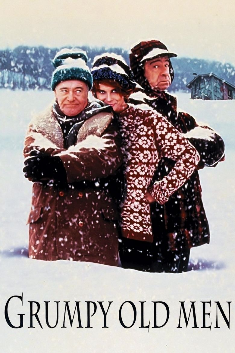 Grumpy Old Men (film) movie poster