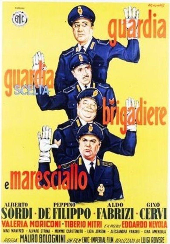 Guardia, guardia scelta, brigadiere e maresciallo movie poster