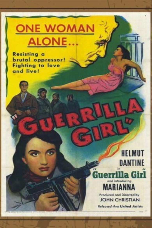 Guerrilla Girl (1953 film) movie poster