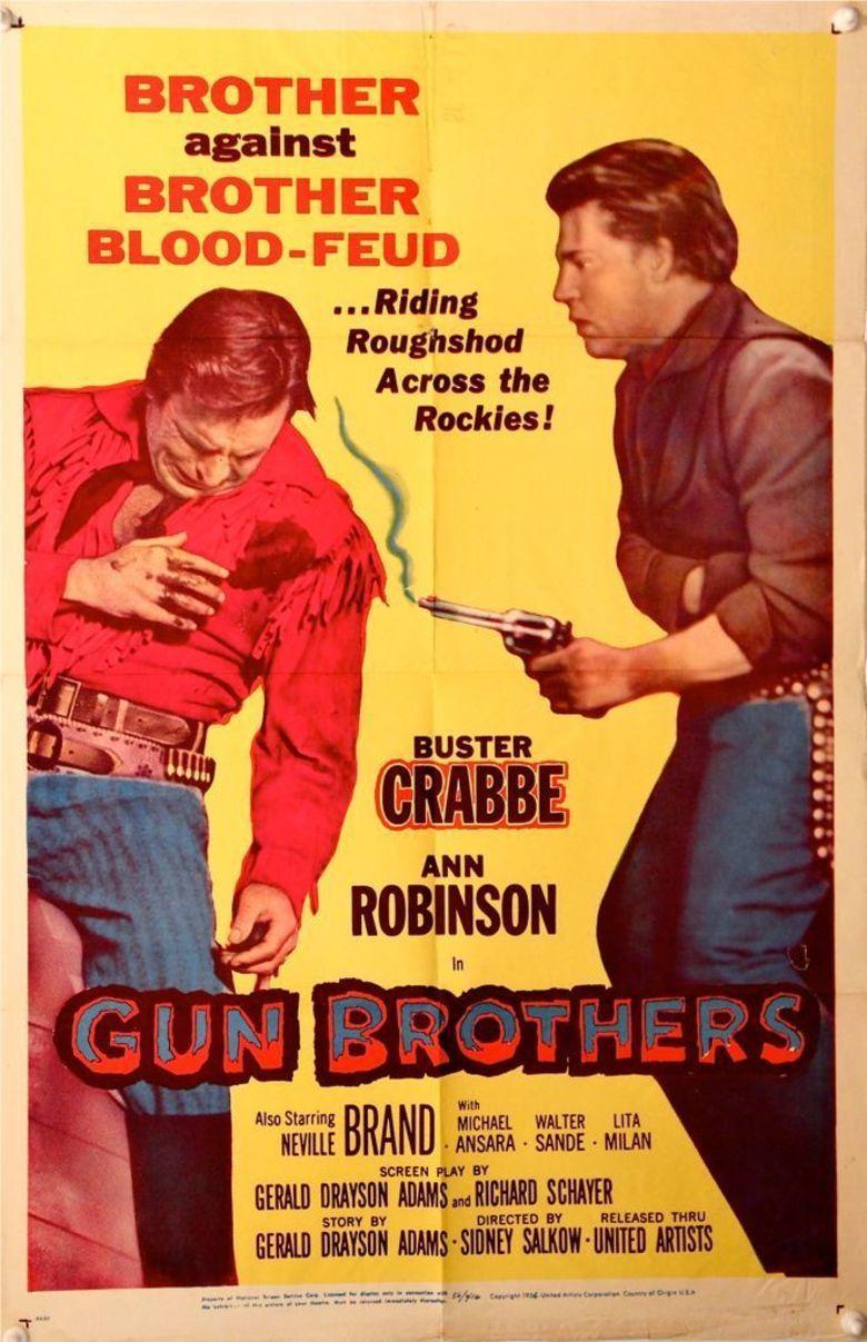 Gun Brothers movie poster