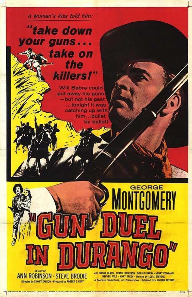 Gun Duel in Durango movie poster