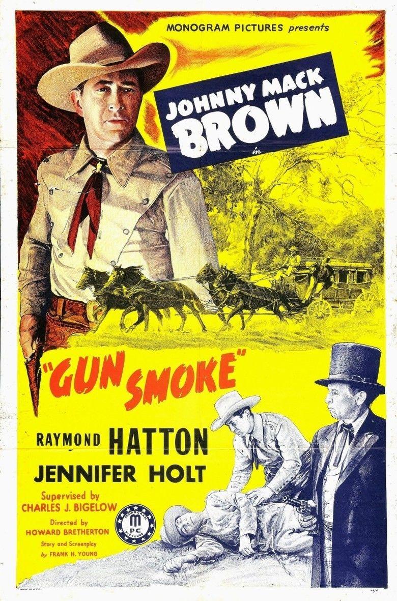 Gun Smoke (film) movie poster