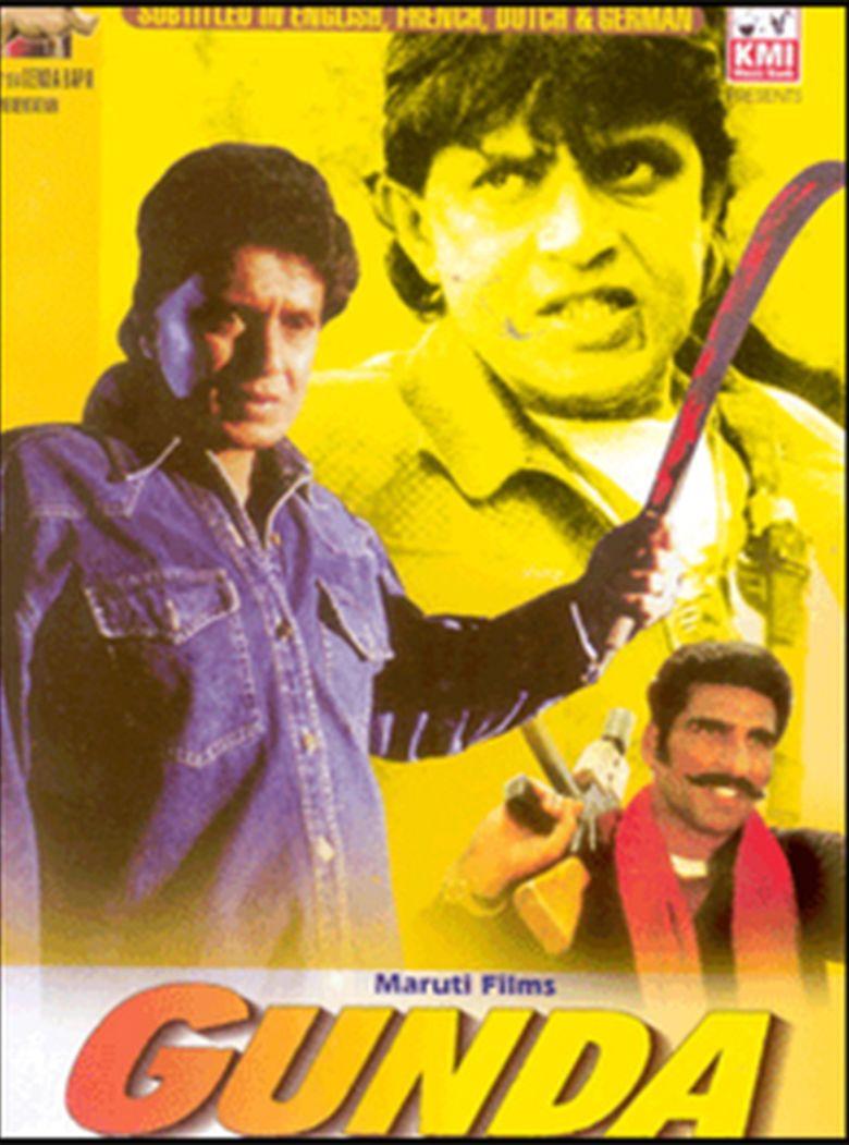 Gunda (film) movie poster