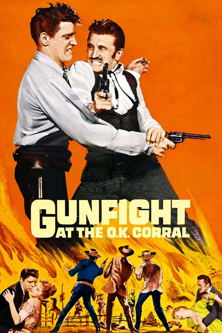 Gunfight at the OK Corral (film) movie poster