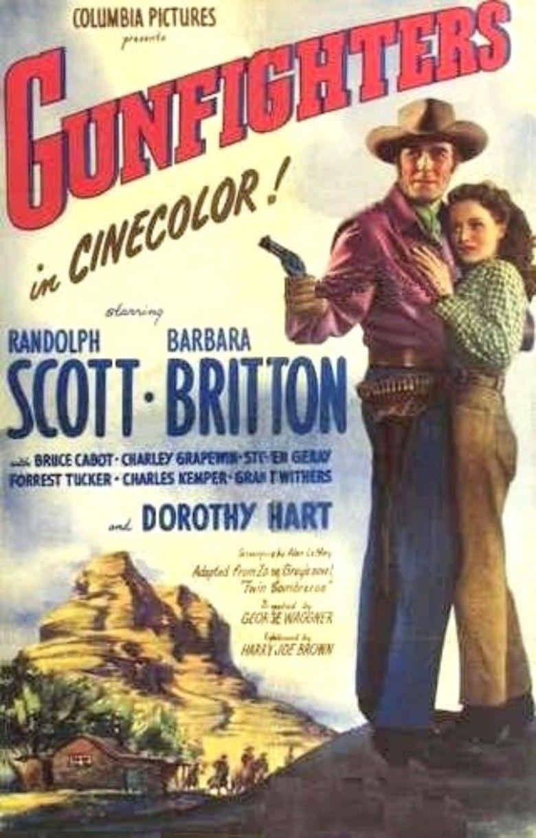 Gunfighters (film) movie poster