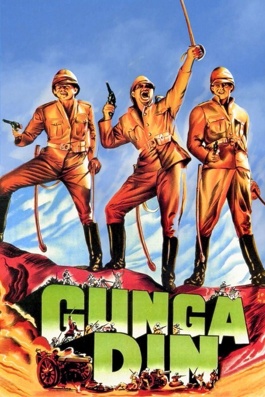 Gunga Din (film) movie poster