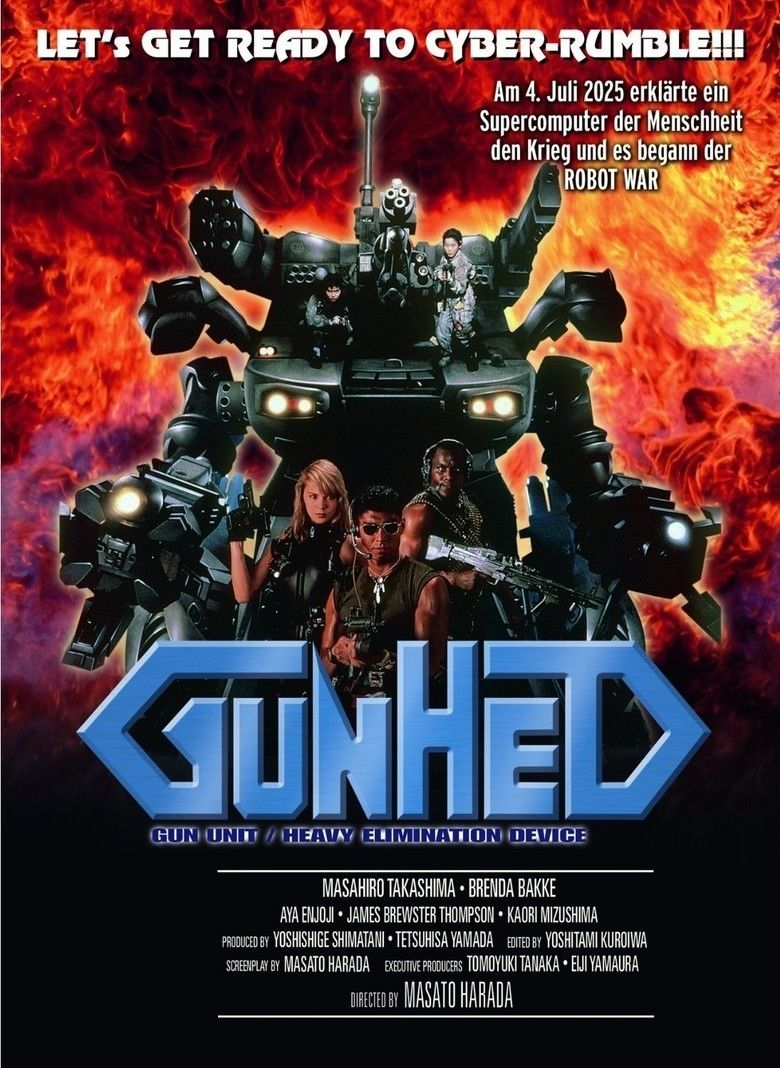 Gunhed (film) movie poster