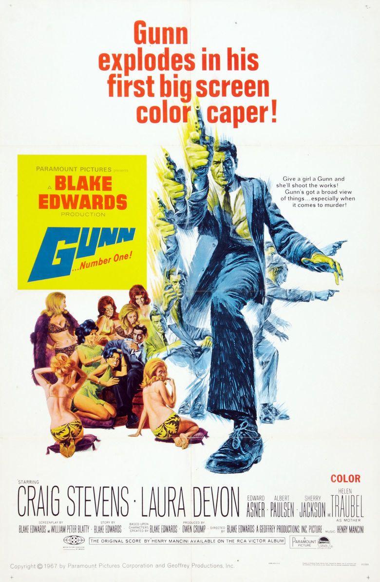 Gunn (film) movie poster