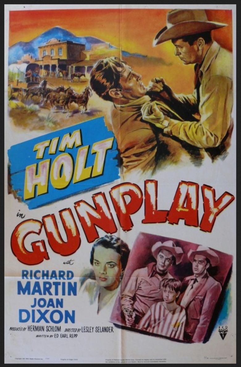 Gunplay (film) movie poster