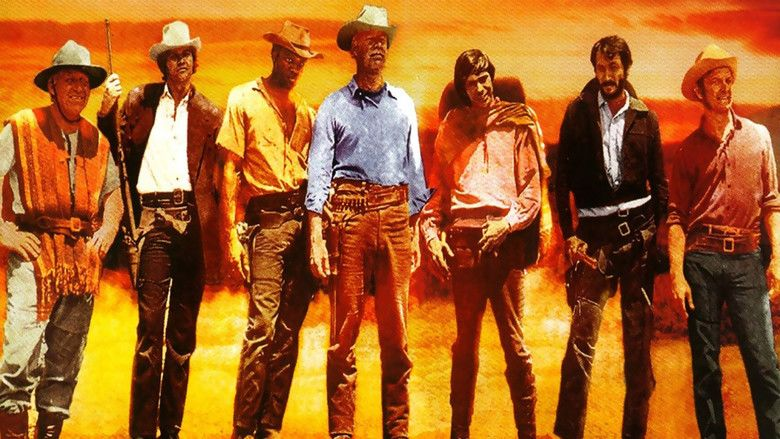 Guns of the Magnificent Seven movie scenes