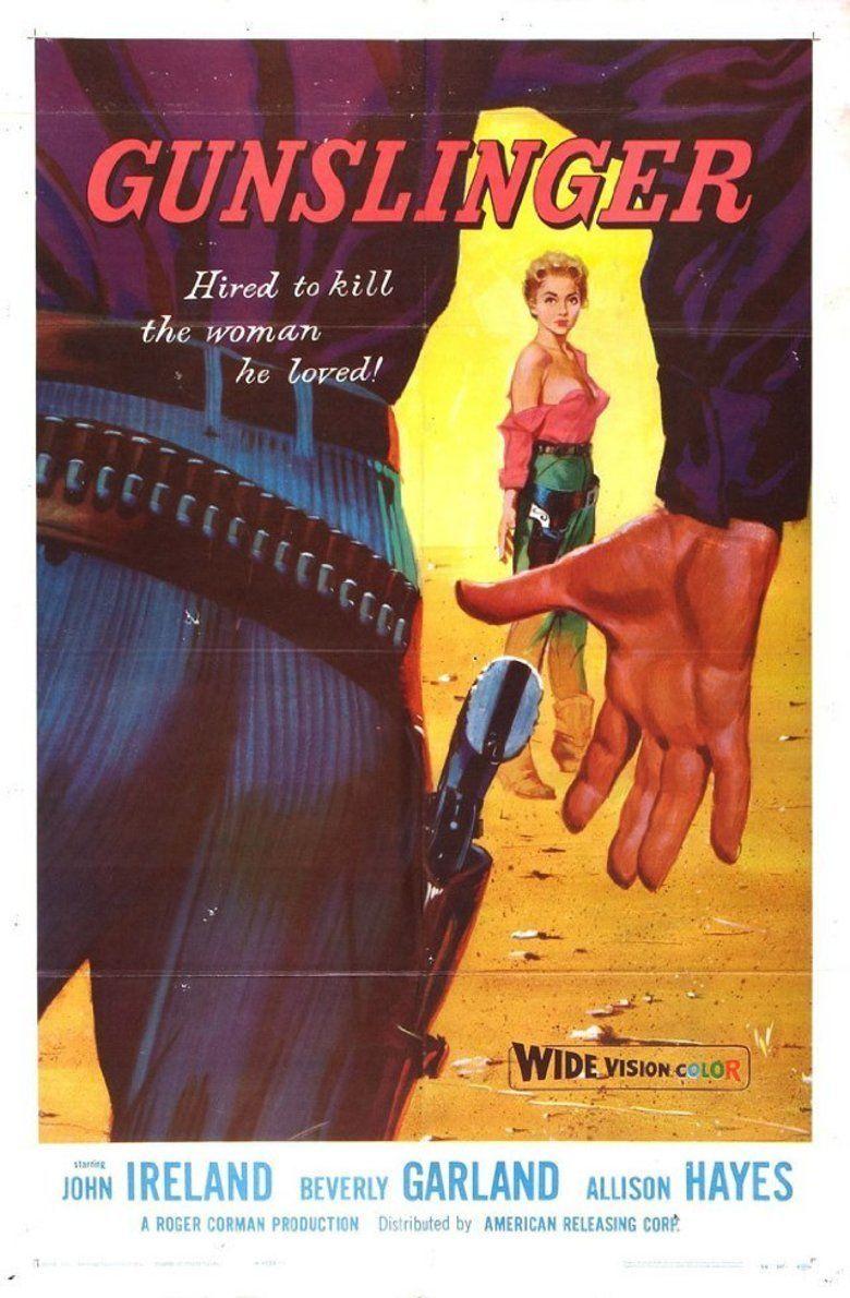 Gunslinger (film) movie poster