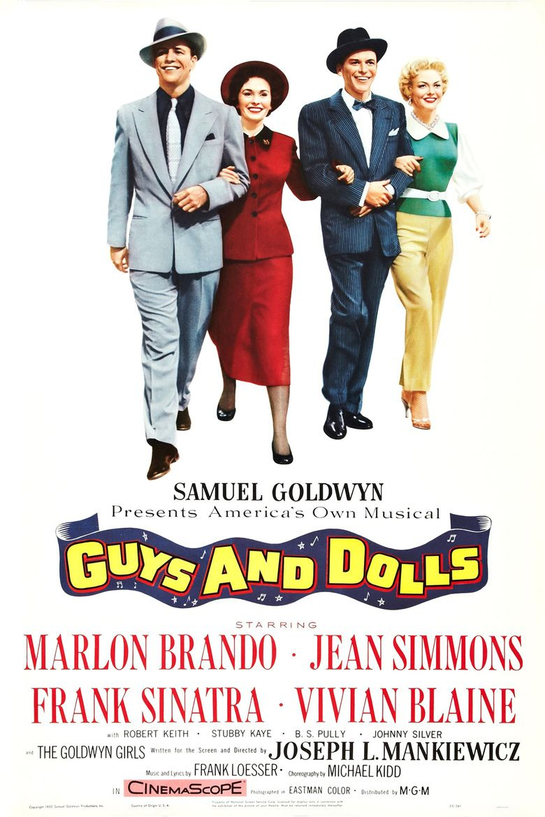 Guys and Dolls (film) movie poster