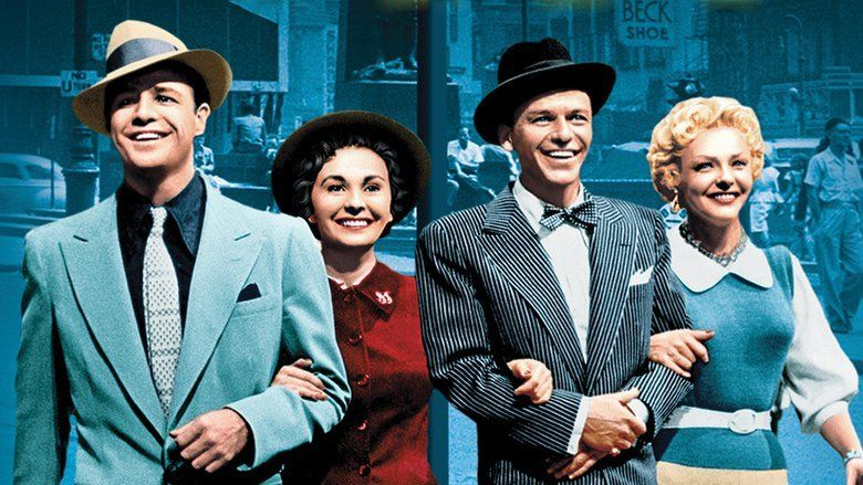 Guys and Dolls (film) movie scenes