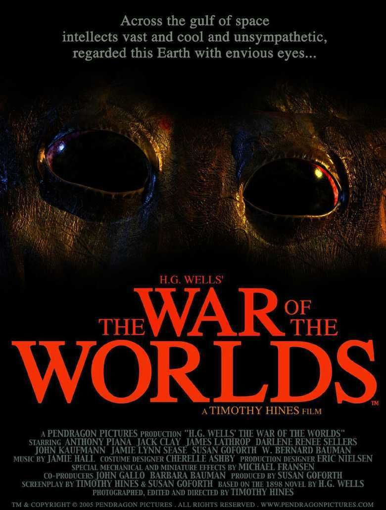 H G Wells The War of the Worlds (2005 film) movie poster