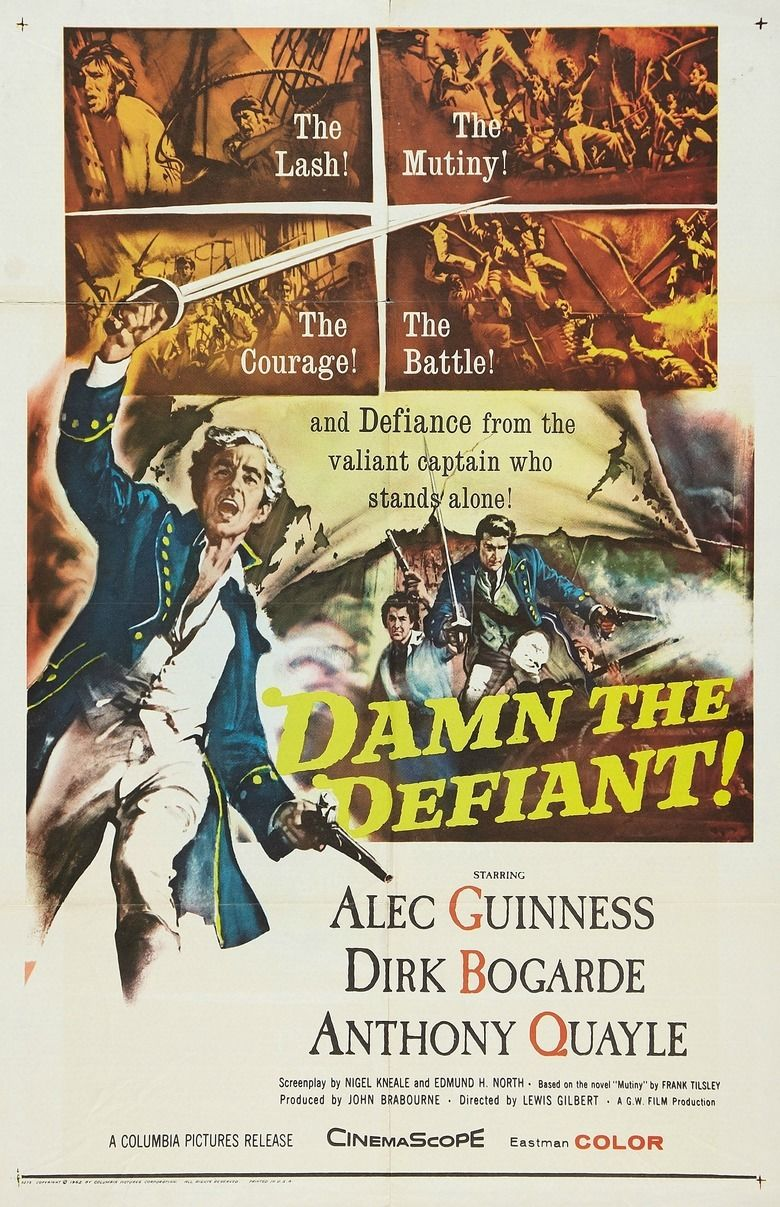 HMS Defiant movie poster