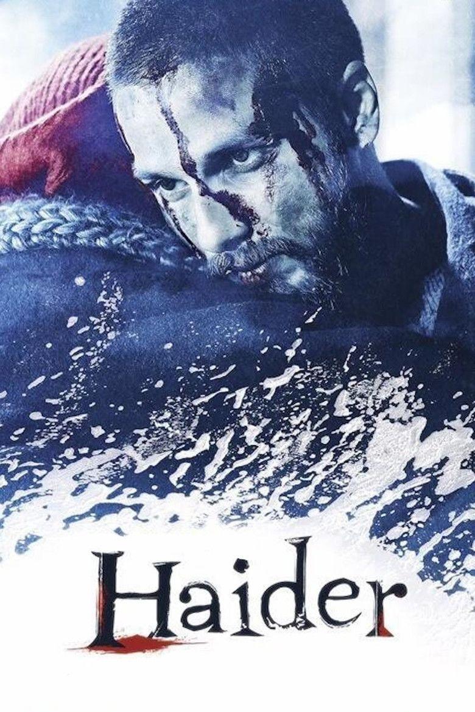 Haider (film) movie poster
